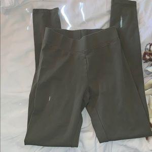 Women's navy green leggins. XXS